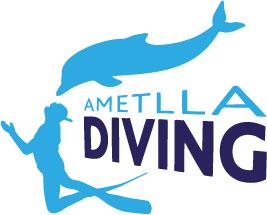 logo ametlla diving