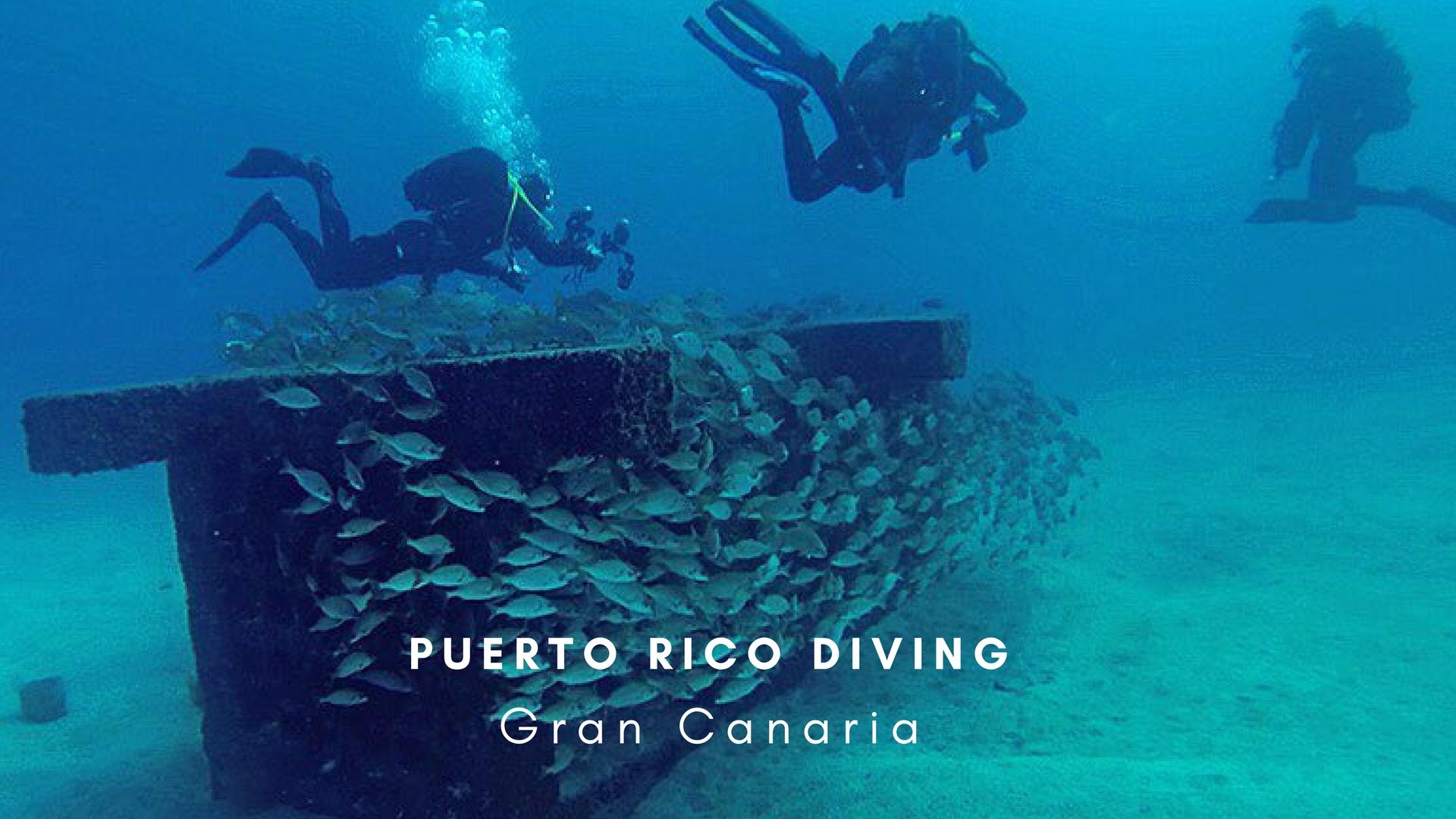 Puerto Rico Diving Gran Canaria